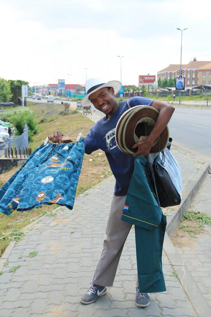vendedor Joanesburgo
