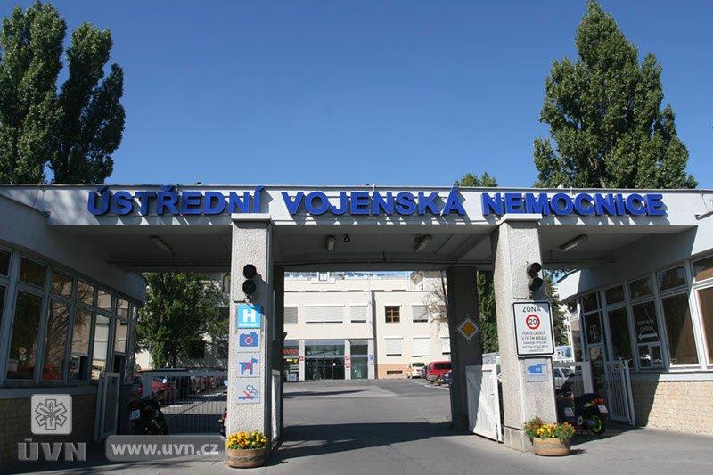 Entrada do Hospital Militar de Praga (Foto: Site oficial do Hospital)