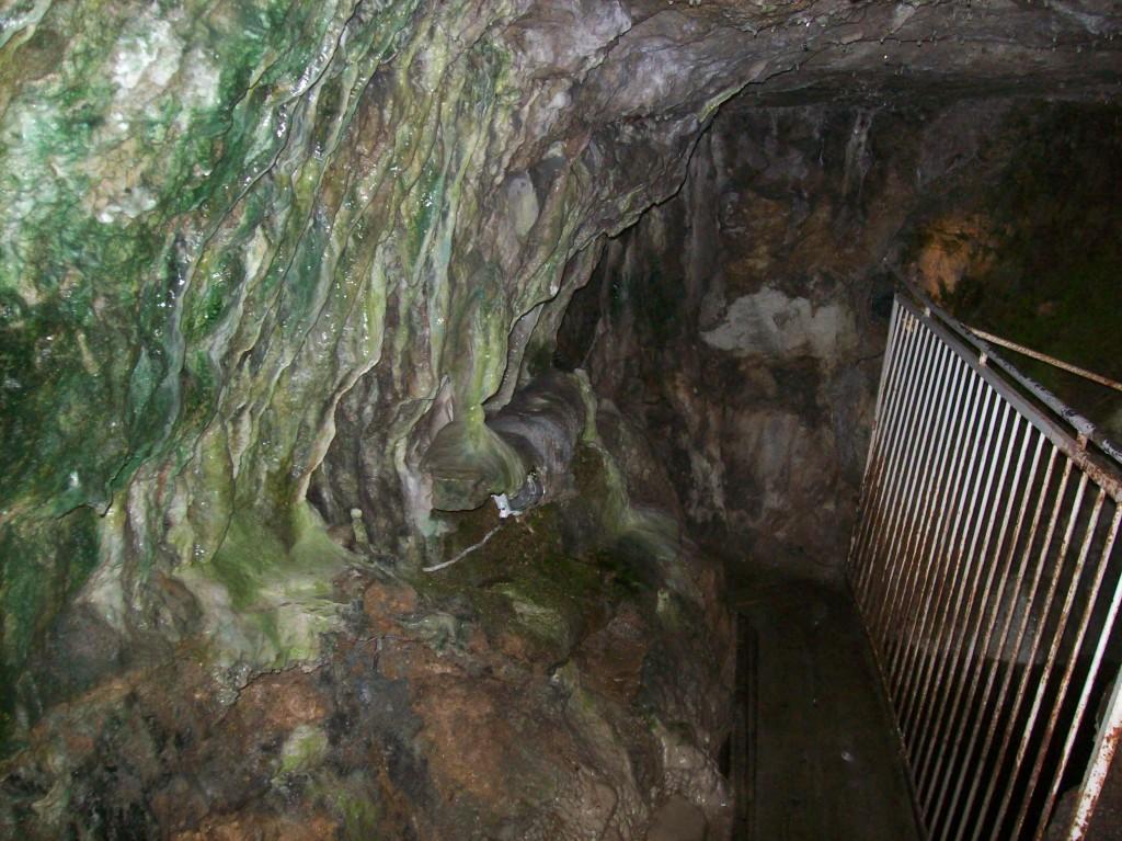 Caminho subterrâneo pelas minas - arquivo pessoal