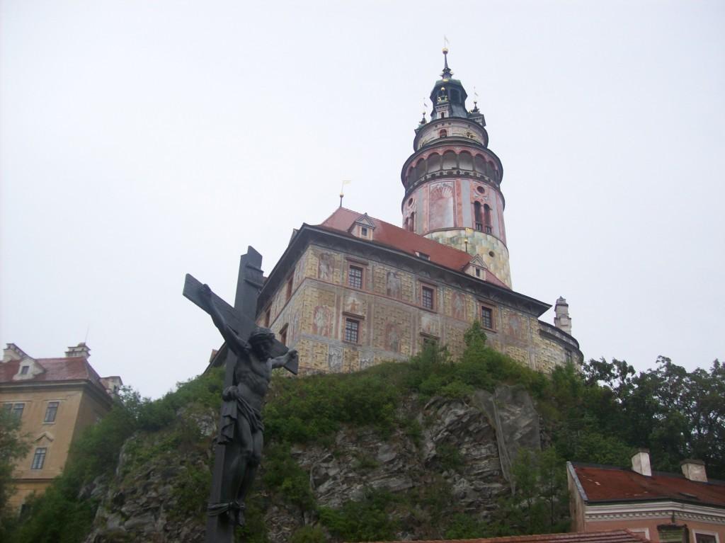 Castelo de Ceský Krumlov - arquivo pessoal
