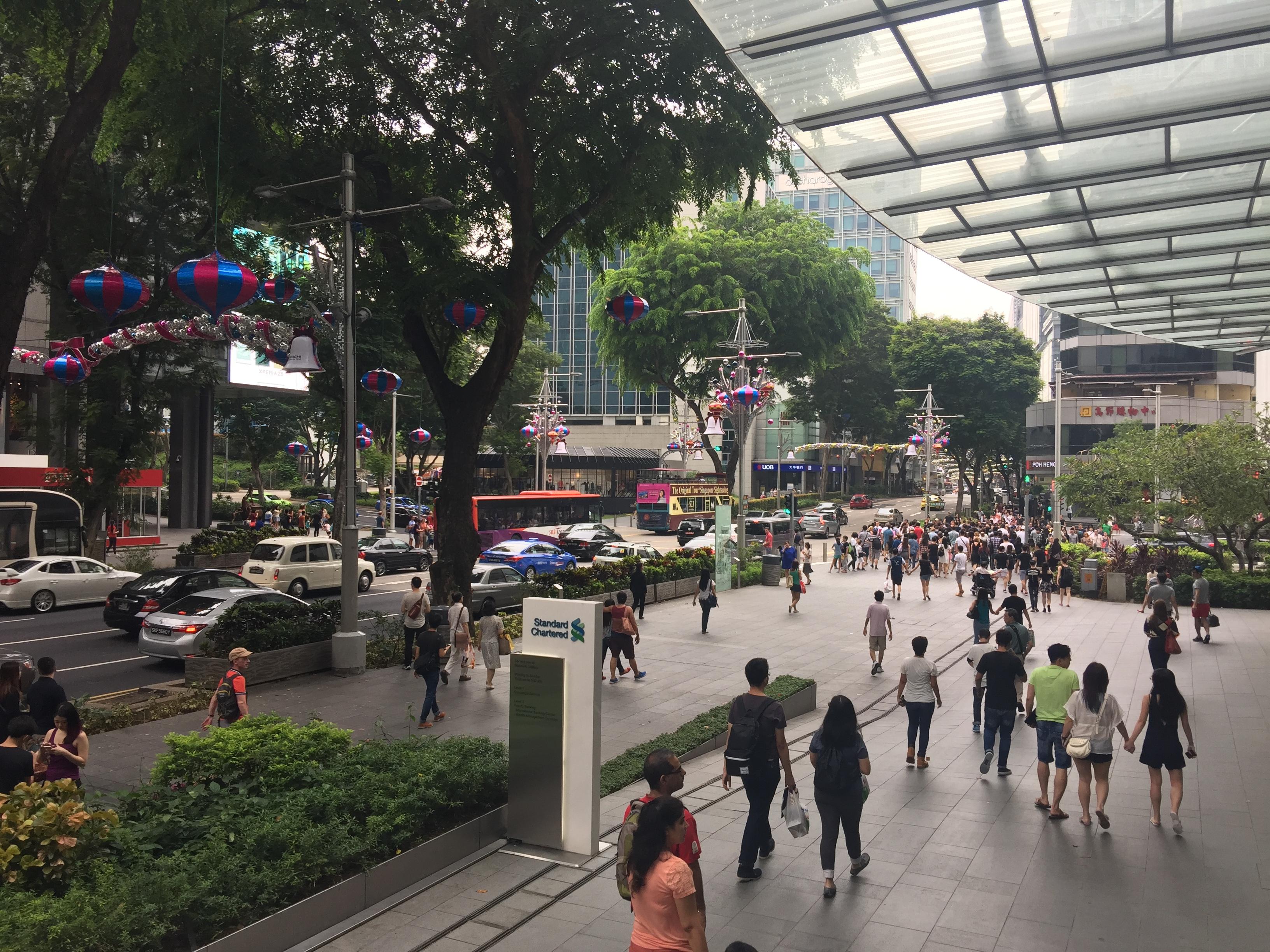 Parte da Orchard Road