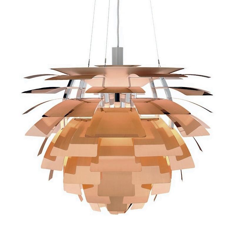 A famosa (e cara) luminária Alcachofra de Poul Henningsen. Foto: www.casanovafurniture.dk/divulgação