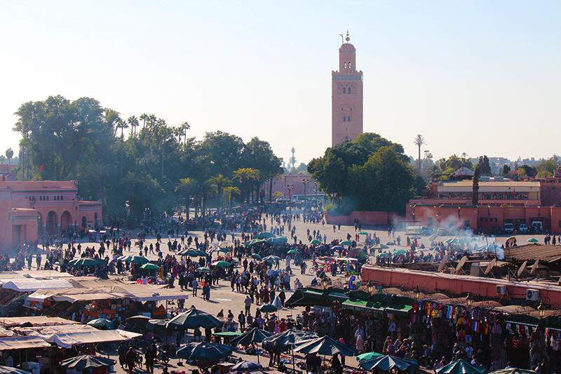 Minareto de Koutoubia em Marrakech - por Selma Poncini