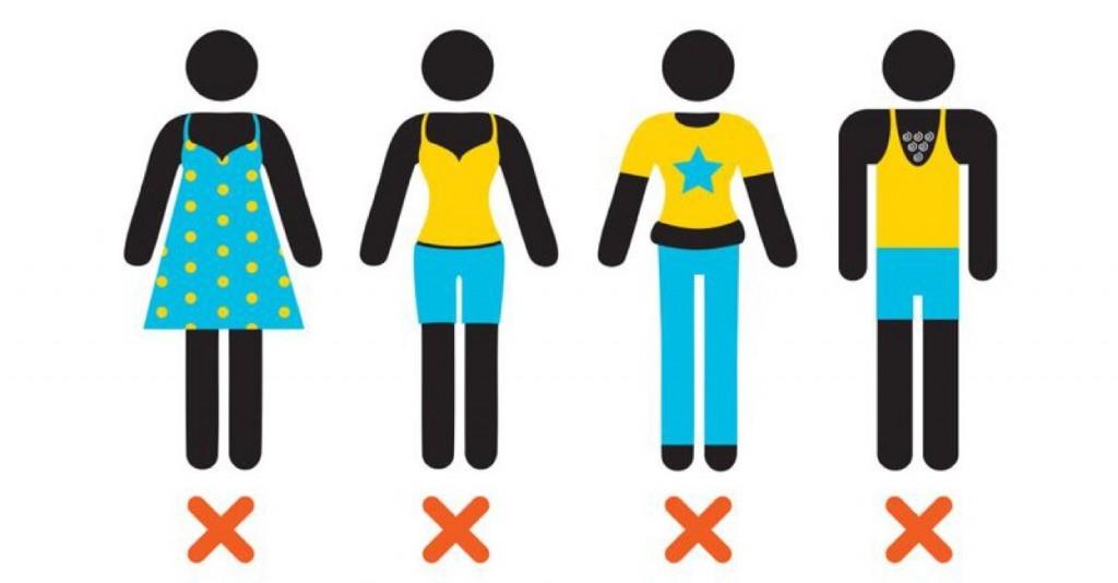 Imagem usada na campanha Reflect your respect