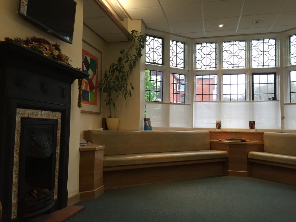 Sala de espera Foto do arquivo pessoal