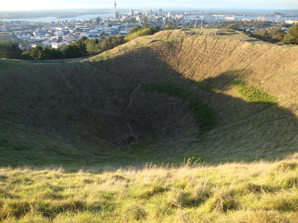 Mount Eden vulcao