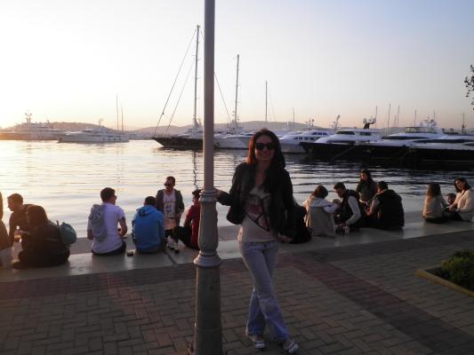 Marina Flisvos na orla de Atenas