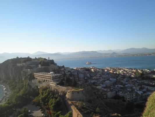 Vista da cidade de Nafplio