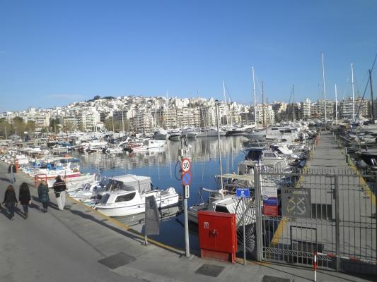 Região de Pireus, na orla