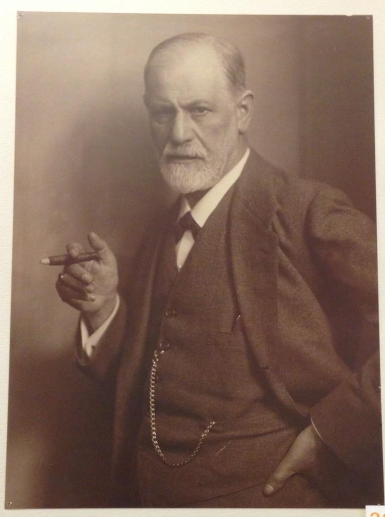 Foto tirada no museu do Freud em Viena