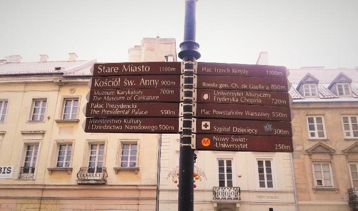 Detalhe da placa com os principais pontos da área. Foto: Vivian Kulpa