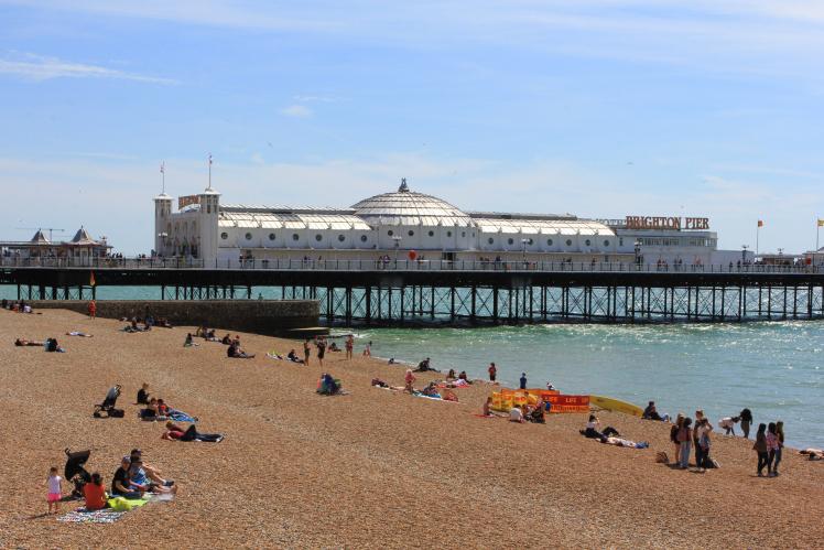 Brighton Pier - Foto do acervo pessoal