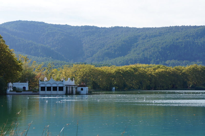 Lago Natural de Banyoles - acervo pessoal
