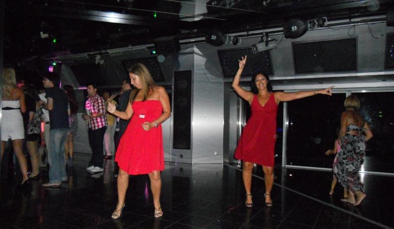 Dançando no cruzeiro