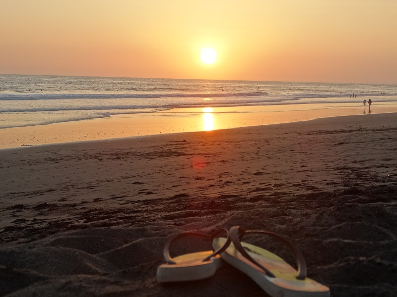 Pôr do Sol na Playa Hermosa
