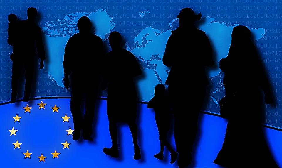 Refugiados - fonte pixabay.com