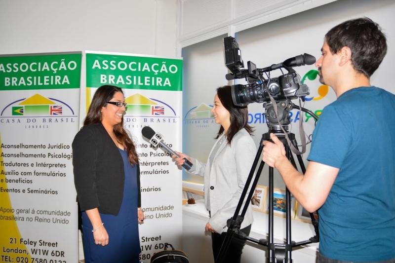Ann BPM sendo entrevistada