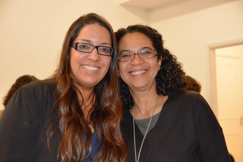 Ann BPM e Iricê Godoi, psicóloga clínica com escritório em Londres