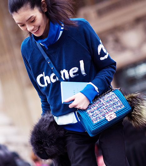 look chanel chinesa