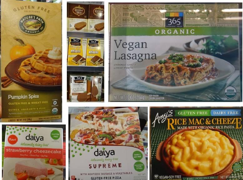 Waffle, picolé, lasanha, cheesecake, pizza e Mac&Cheese (massa ao molho de queijos), todos veganos.