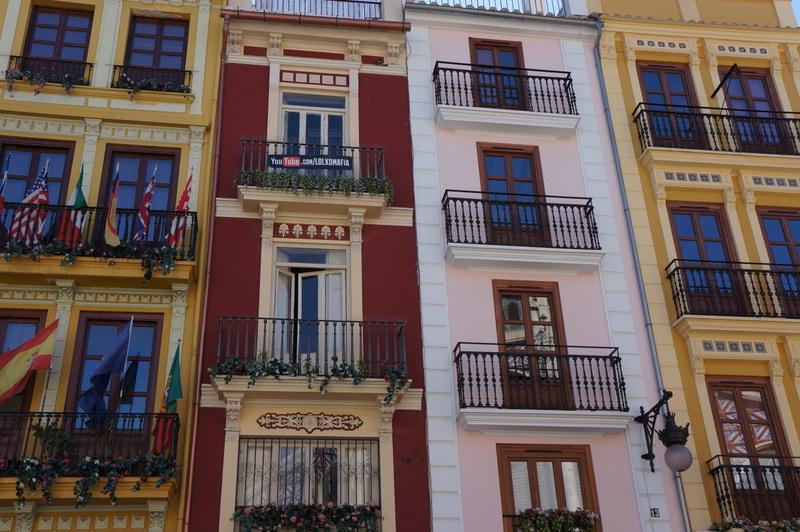 Prédio no centro turístico de Valência - acervo pessoal