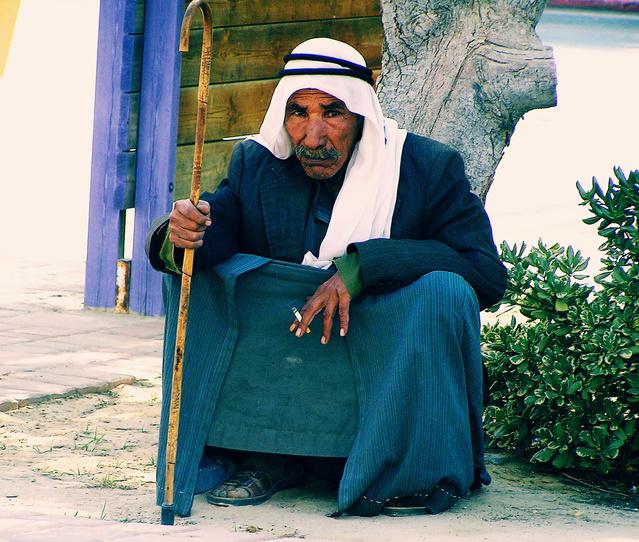 Senhor de uma tribo beduína