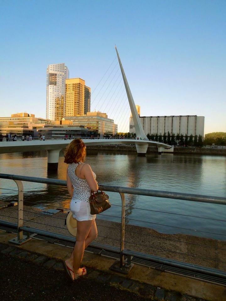 Foto: Flávia A. Z. - Puente de la Mujer/Buenos Aires