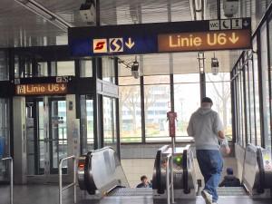 Acesso ao metrô em Viena sem catraca