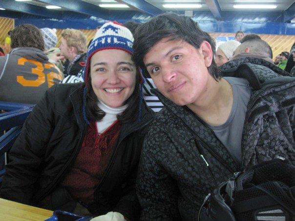 Dia em Valle Nevado com colegas