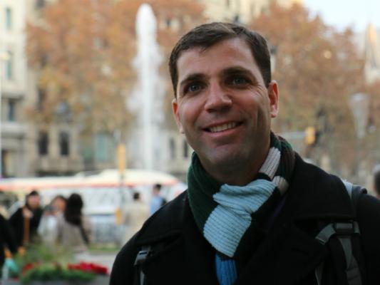Leonardo de Mattos, líder do grupo de Robótica Biomédica do Instituto Italiano de Tecnologia. Fonte: Arquivo pessoal de Leonardo de Mattos. Todos os direitos reservados.