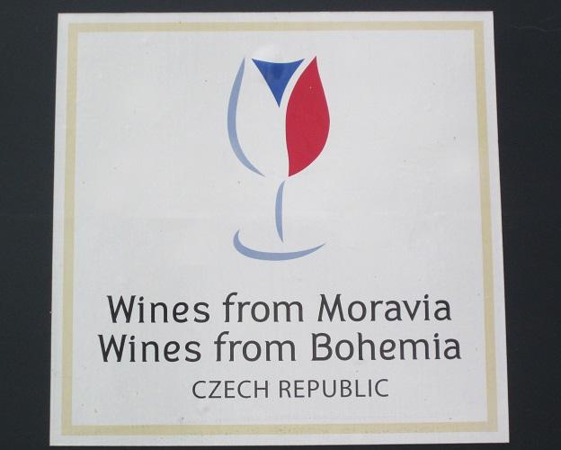 Um selo dos vinhos tchecos, pouco conhecidos mas de alta qualidade. (Foto: acervo pessoal)