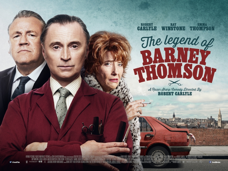 Pôster do filme The Legend of Barney Thomson