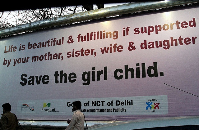 Campanha em Delhi