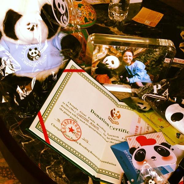 pandas favors a