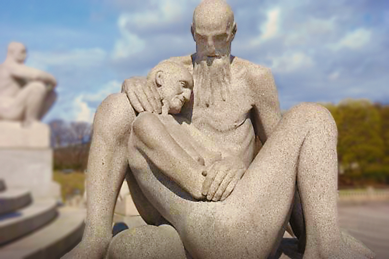 Escultura. Vigelandspak, Oslo. Foto: Pixabay