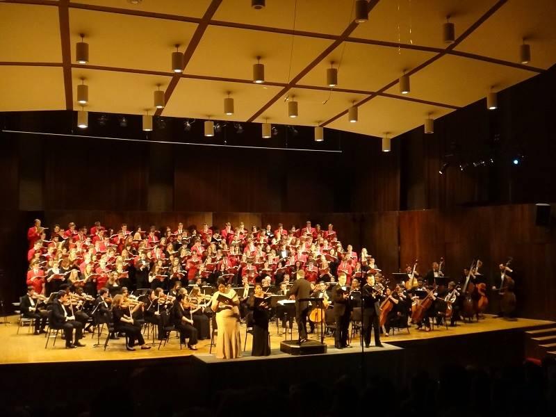 A orquestra da universidade é maravilhosa e faz apresentações gratuitas todo mês!
