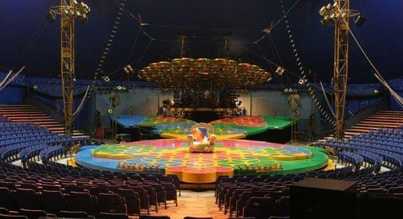 Palco Cirque du Soleil