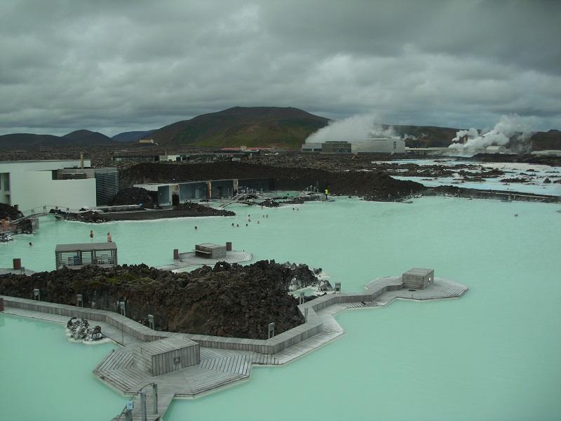 A Lagoa Azul. Foto Adriana Griesbach.