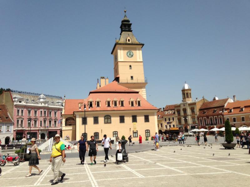 Arquivo pessoal: Brasov - Piata Sfatului