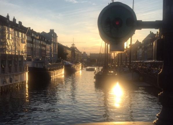 Nyhavn ao fim da tarde. Fonte: Arquivo Pessoal da Autora