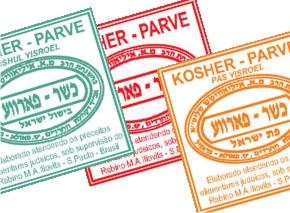 Etiqueta de certificação rabínica