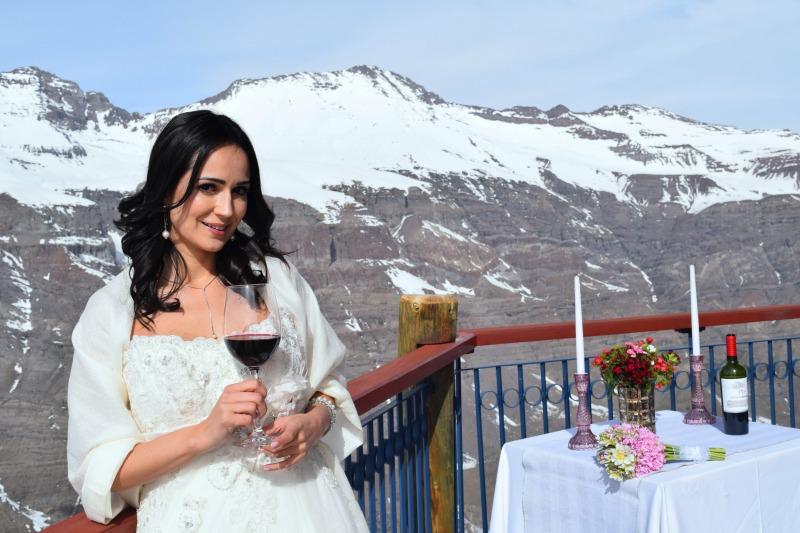 Destination Wedding na Cordilheira dos Andes