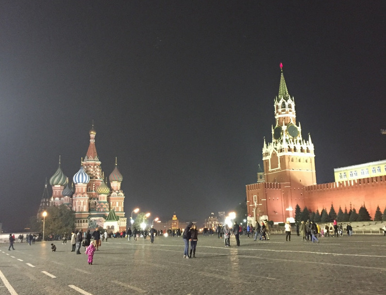 A famosa Praça Vermelha