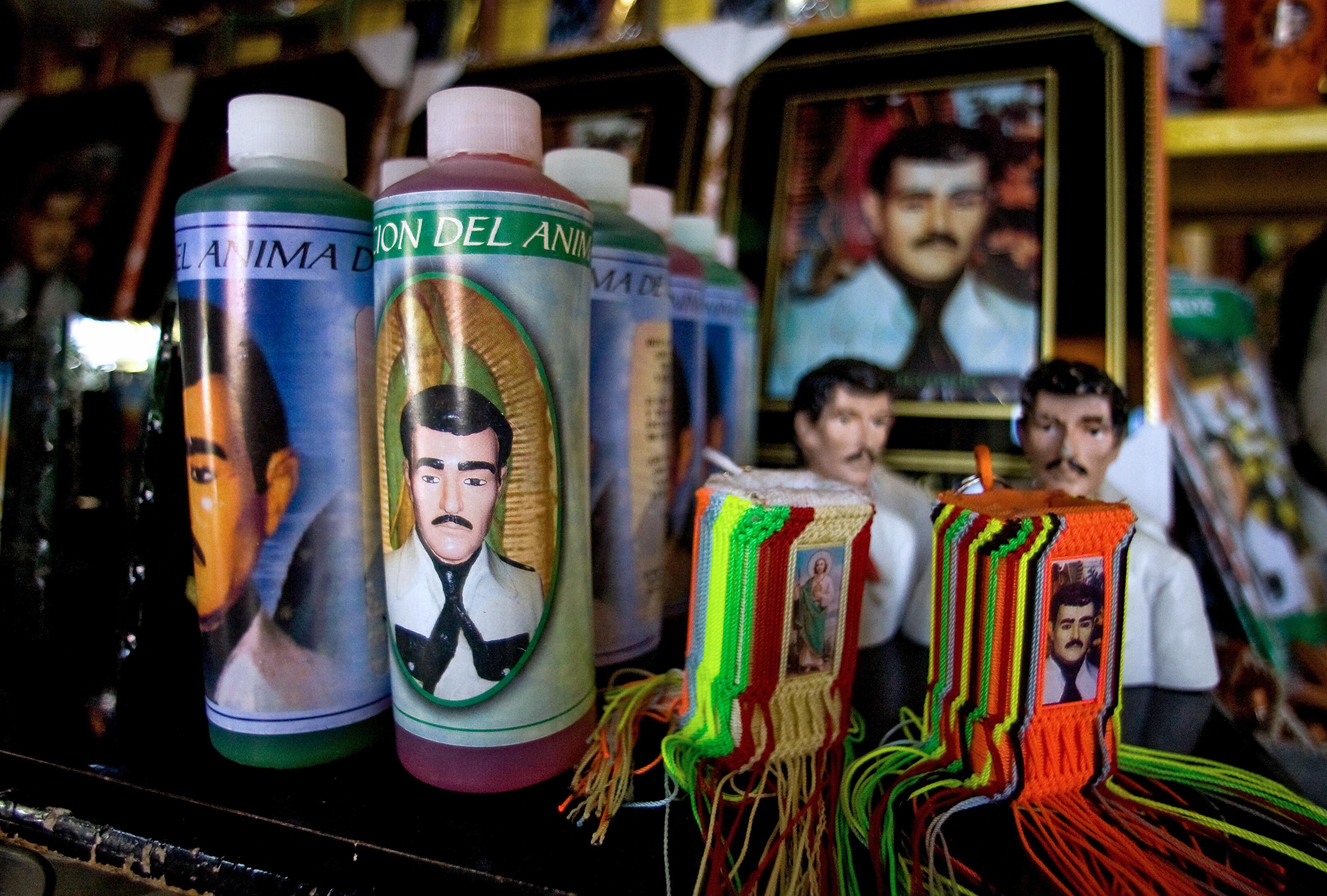 Jesus Malverde - Foto: AFP