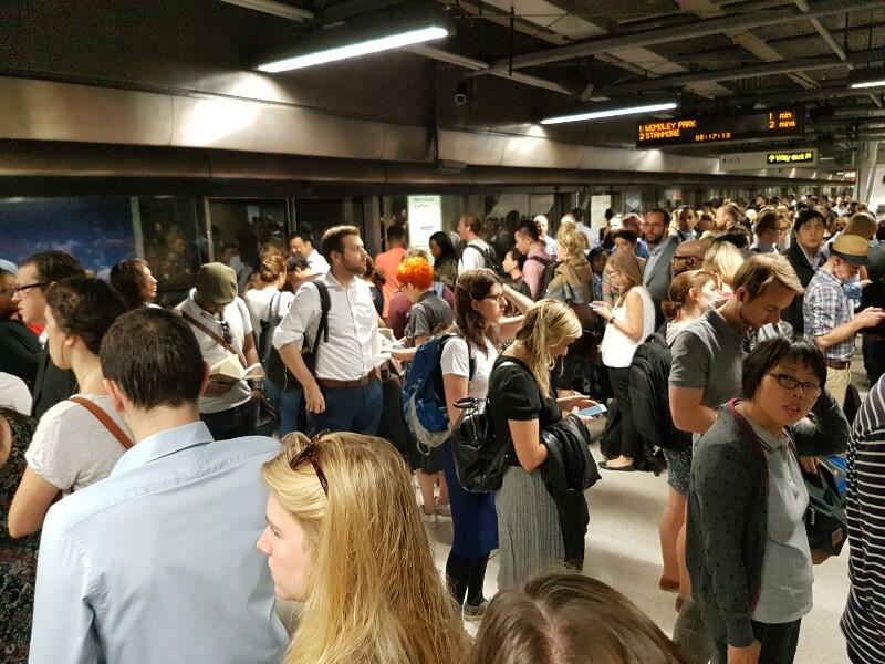 Metrô em Londres