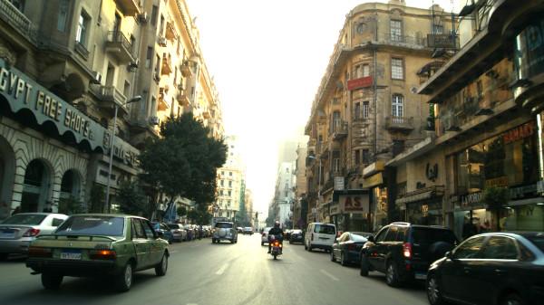Centro da cidade do Cairo