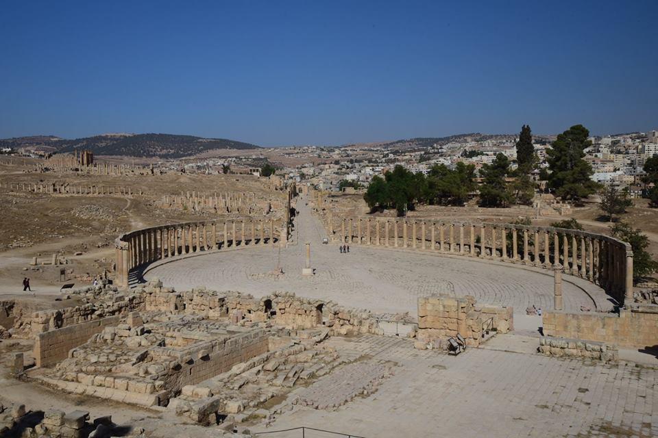Jerash - Jordânia (Fonte: arquivo pessoal)