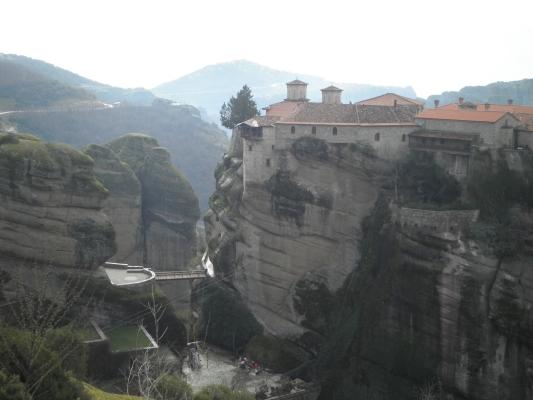 Meteora e seus incríveis mosteiros