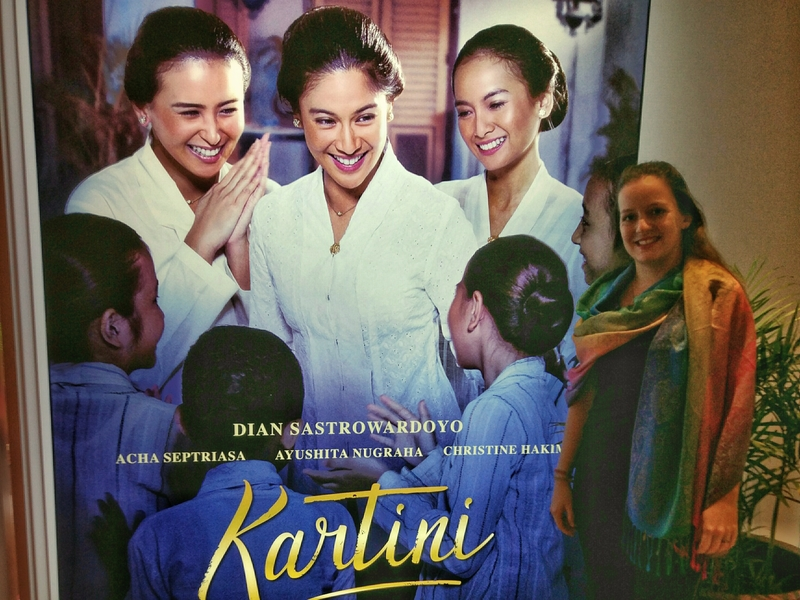 Kartini, o filme. Foto: Arquivo pessoal.