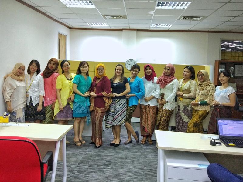 O dia de Kartini. Foto: Arquivo pessoal.